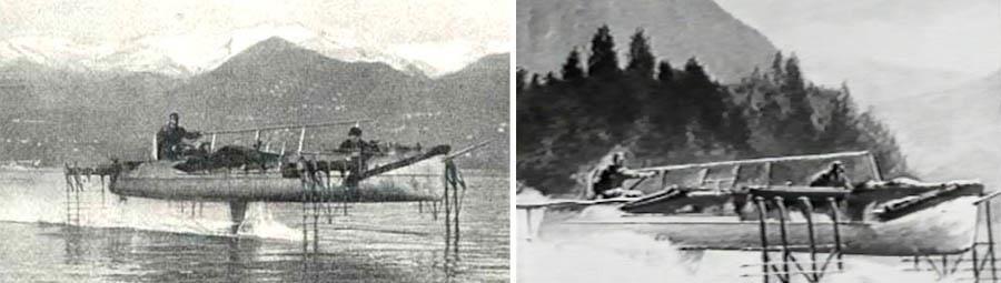 Italian inventor of Hydrofoil